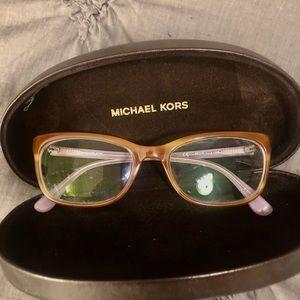 Michael Kors  prescription glasses.